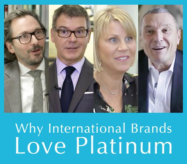 ブルガリ、カルティエ、ガラード、ヴァン クリーフ&アーペルのトップが語る、プラチナを愛する理由をご紹介